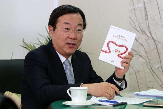 초성 논란의 불을 지핀 김종석 자유한국당 의원.[중앙포토]