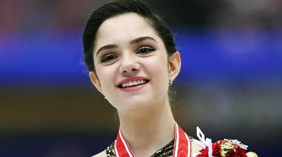 예브게니아 메드베데바 러시아 피겨스케이팅 선수. [사진 AP통신]