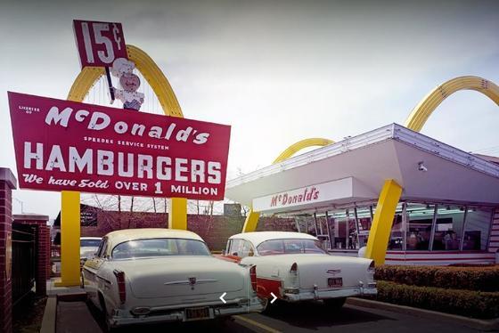 미국 맥도날드 1호점. [연합뉴스]