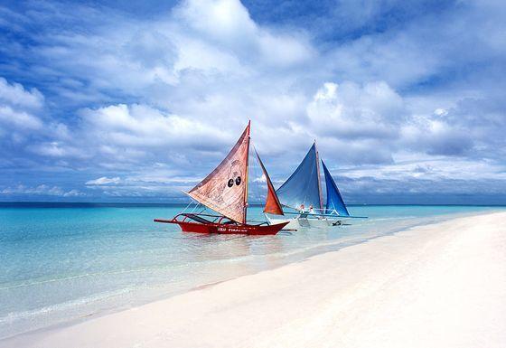 필리핀 보라카이 해변. [중앙포토]