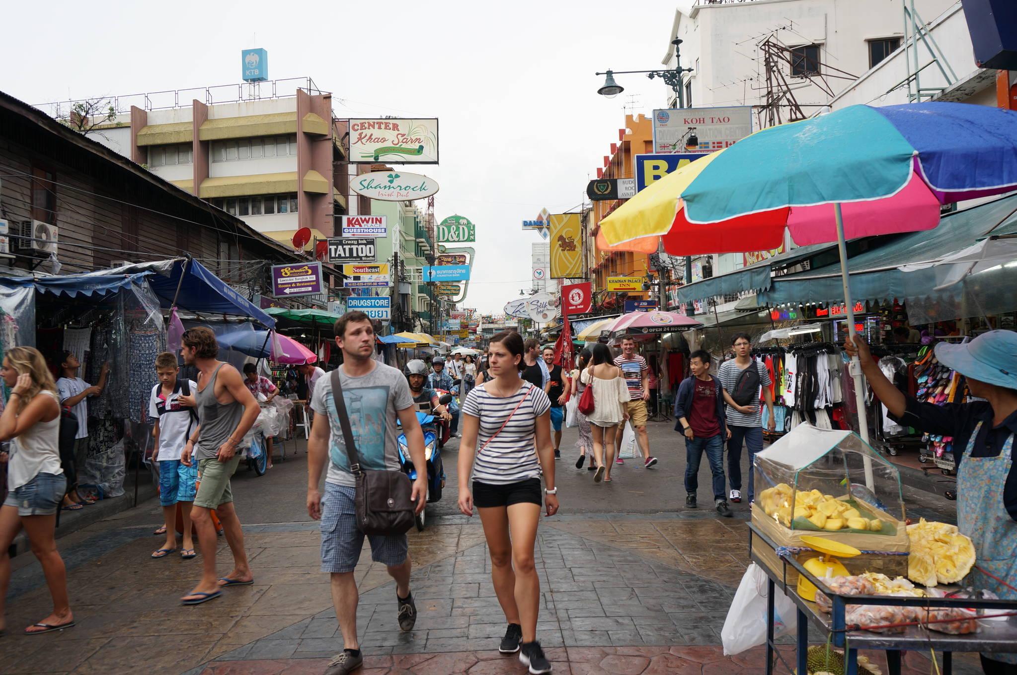 방콕 카오산로드. [중앙포토]