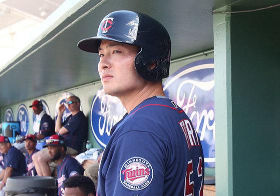 야구 선수 박병호(31·미네소타 트윈스).
