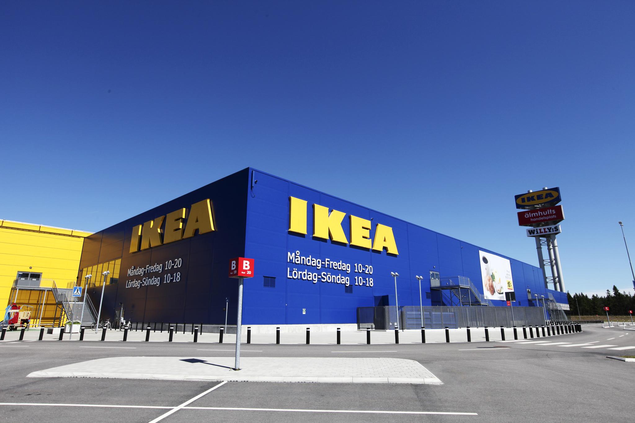 10일 스웨덴 엘름훌트에 위치한 이케아 매장에서 찾은 원가절감의 비밀. [사진제공=이케아]