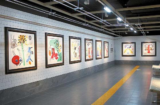 서울 역삼동 M컨템포러리 아트센터에서 열리는 'Hi, POP-거리로 나온 미술, 팝아트展'.