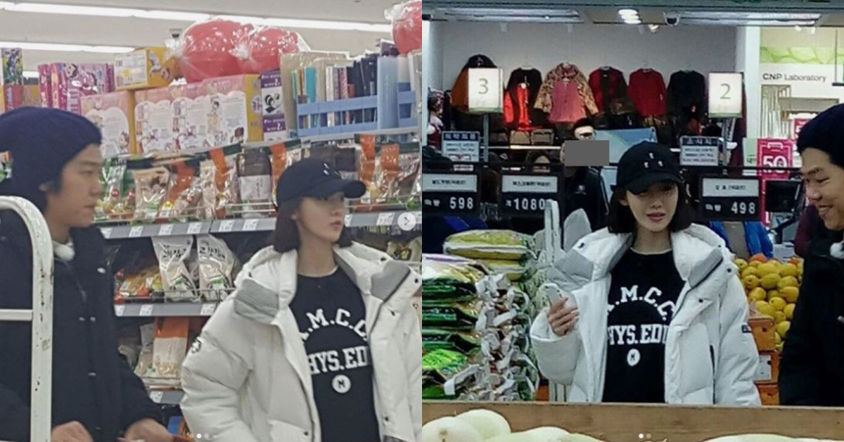 Yoona of Girls' Generation was spotted in Jeju Island.