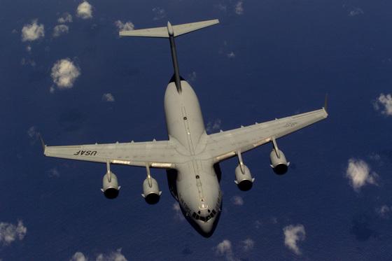 C-17 글로브마스터. [사진 미 공군]