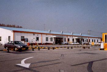예천공항의 가건물 터미널. [중앙포토]