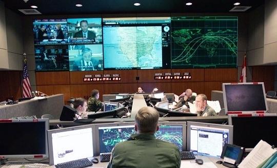 뉴 콜로라도 스프링스에 위치한 북아메리카항공우주방위군(Norad) 통제실 [사진 홈페이지 캡처]