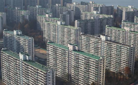 잠실주공5단지 아파트 전경.[연합뉴스]
