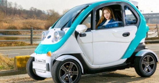 티몬이 100대 한정으로 내놓은 초소형 전기차 '다니고'. [사진 티몬]