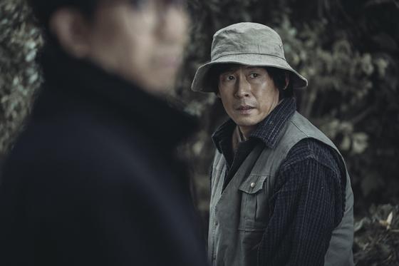 영화 '1987'에서 재야인사 김정남 역을 맡은 배우 설경구. [사진 CJ E&M]