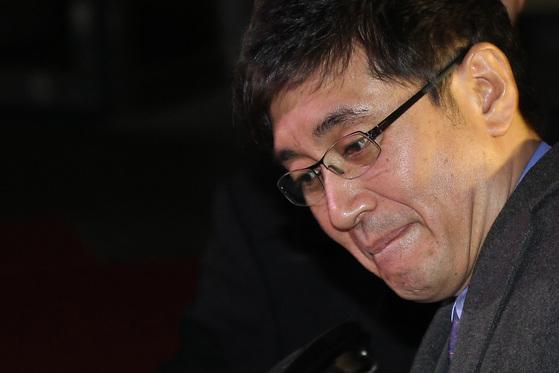 이호진 전 태광그룹 회장. 그는 2012년 회삿돈 횡령 등 혐의로 기소된 후 2012년 회장직을 사임했다.[중앙포토]
