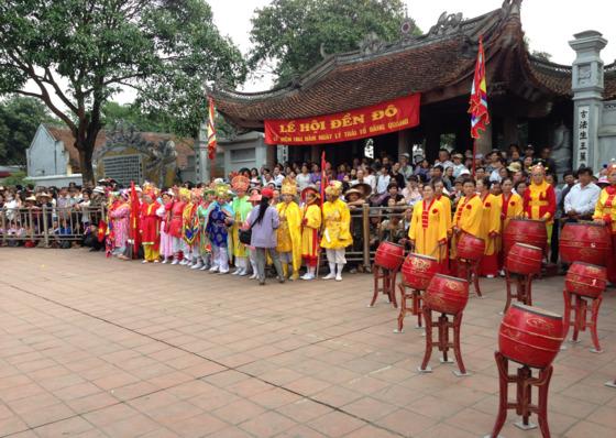 매년 음력 3월 15일 열리는 리 왕조 창건 기념 축제. '덴도 축제'라고 불린다. 축제에는 한국에 거주하는 화산이씨 후손들이 초청을 받아 참석한다. [사진 박순교 3사관학교 교수]