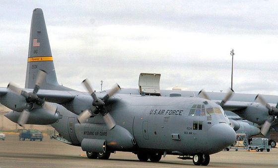 이번에 특수작전용으로 개량된 C-130H와 같은 기종. 사진은 미 공군 소속 C-130H다. [사진 미 공군]