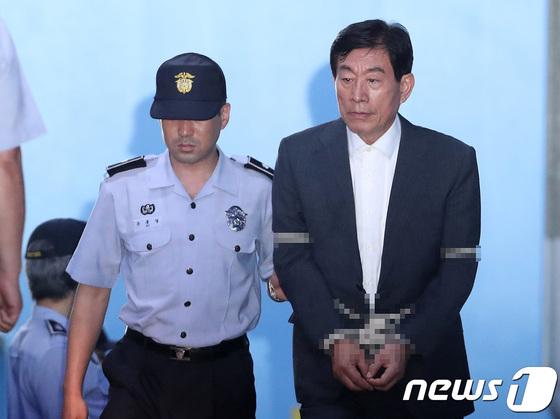 원세훈 전 국가정보원장 [News1]