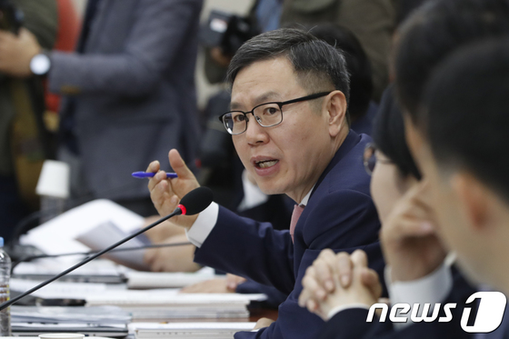 자유한국당 정태옥 대변인 [News1]