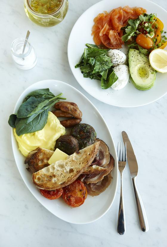호주식 아침 식사인 빌즈의 '풀 오지'. [사진 빌즈]