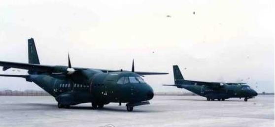 군용 수송기 CN-235M기 [연합뉴스]