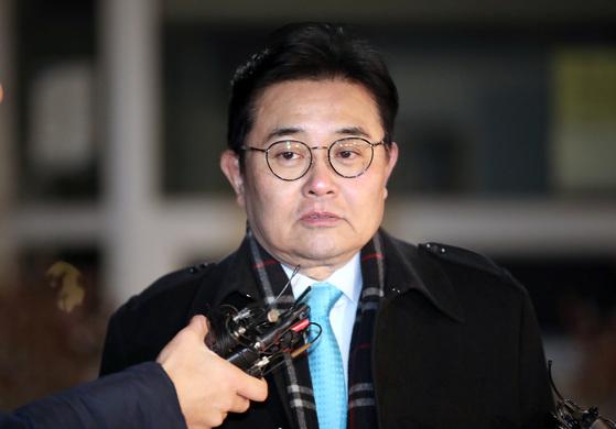 뇌물수수 의혹을 받는 전병헌 전 청와대 정무수석.. [연합뉴스]