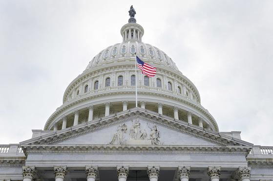 미국 워싱턴DC에 위치한 의회 의사당. [AP=연합뉴스]