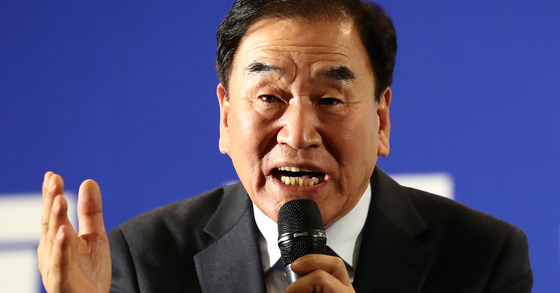 이재오 늘푸른한국당 대표. [중앙포토]