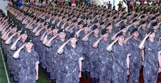 육군훈련소 자료사진. 프리랜서 김성태