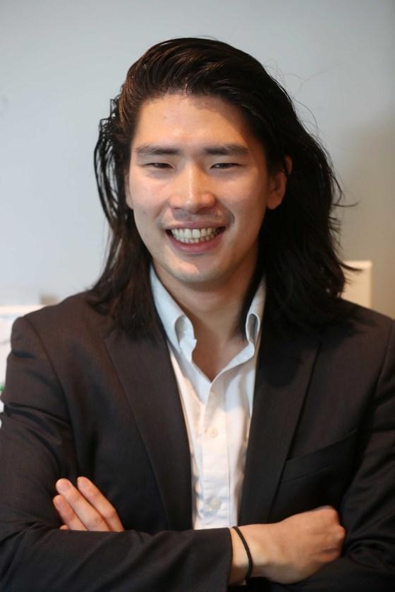 지난해 7월, 한국인 최초로 30대 초반에 파슨스디자인스쿨 교수로 임용된 임정기씨.