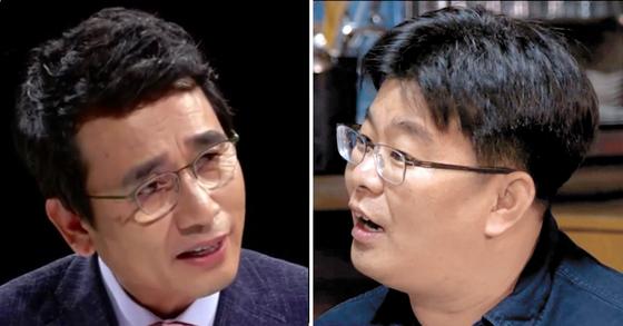 [JTBC, tvn 화면 캡처]