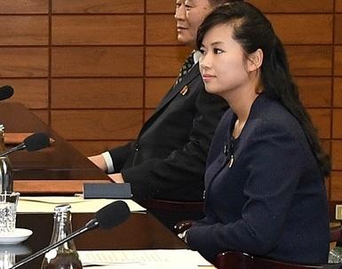 15일 남북 실무접촉에 대표단으로 참석한 현송월 모란봉악단 단장. [통일부 제공]