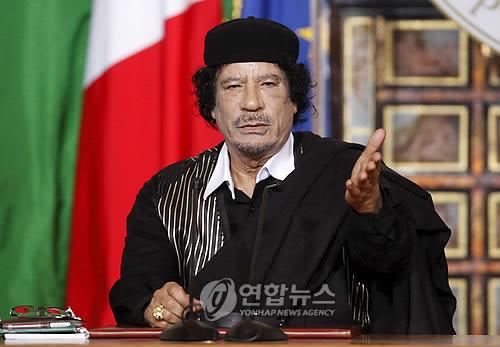 리비아 지도자 무아마르 카다피 [EPA=연합뉴스]