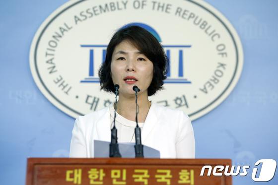 전희경 자유한국당 대변인 [News1]