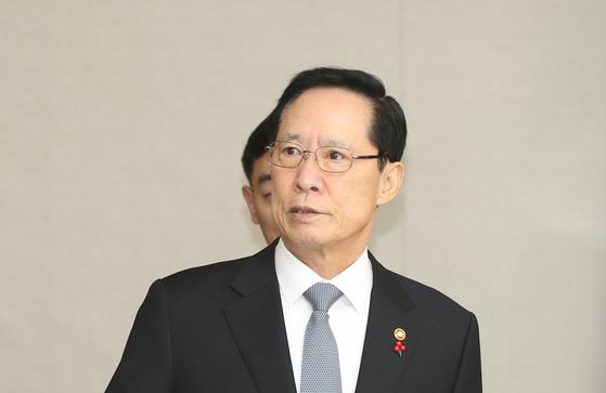 송영무 국방부장관. [연합뉴스]