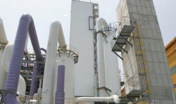 25일 근로자 4명이 유독가스에 질식한 사고가 난 포항제철소 산소공장. [연합뉴스]
