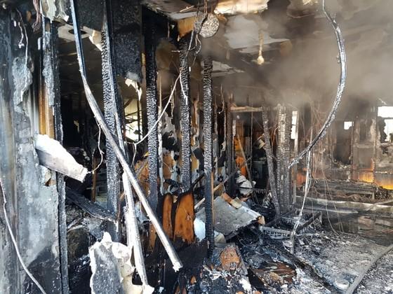 불이 난 밀양 세종병원의 1층. 불은 1층 응급실 안쪽에서 시작된 것으로 파았됐다. 송봉근 기자