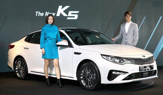 기아차 새 모델 '더 뉴 K5'