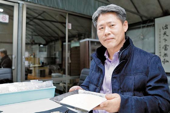 시드피아 조유현 대표이사는 저아밀로스 및 글로벌 선호도가 높은 향미 쌀 품종을 개발하고 사업화 시스템 구축·운영에 기여했다. [사진 한광호기념사업회]