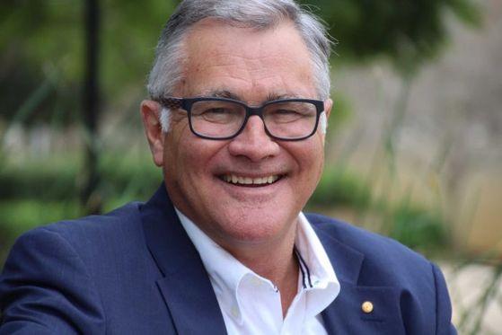 우울증을 진단받은 뒤 스스로 총리직을 사임한 제프 갤럽 전 웨스턴오스트레일리아주 총리의 최근 모습. [ABC 홈페이지 캡처]
