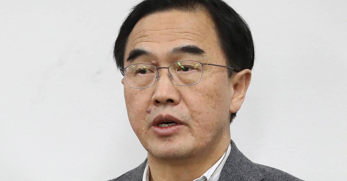 조명균 통일부 장관. [연합뉴스]