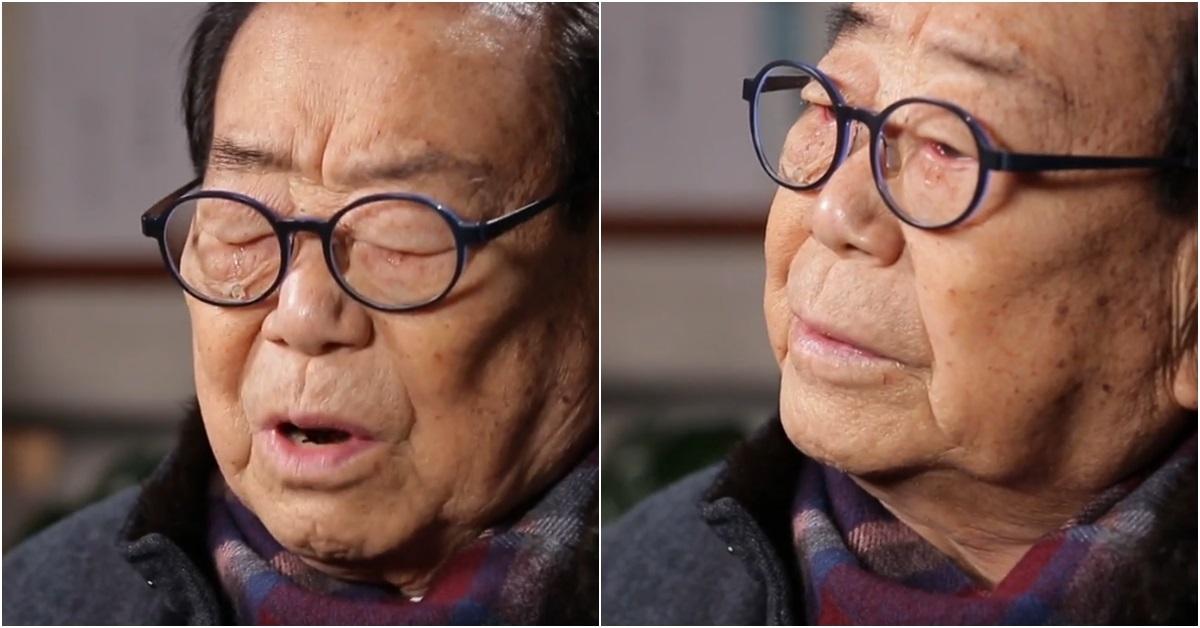 26일 방송된 KBS '연예가중계'에서 송해. [사진 KBS 방송 캡처]