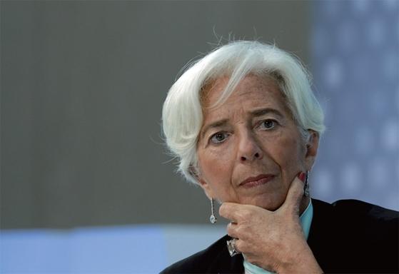 크리스틴 라가르드 국제통화기금(IMF) 총재.