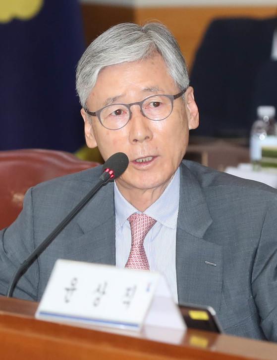 여상규 자유한국당 의원. 강정현 기자