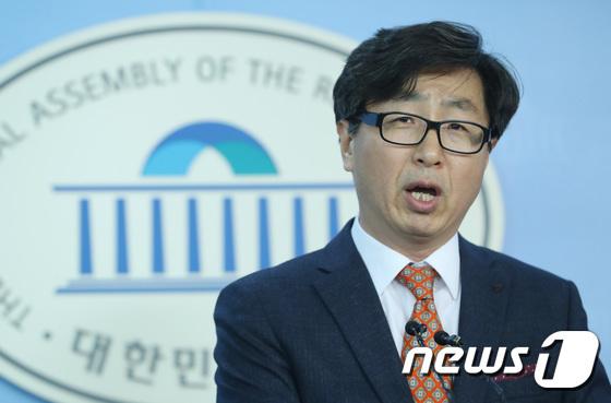 정호성 자유한국당 부대변인. [뉴스1]
