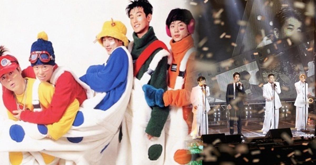 1세대 아이돌 그룹 H.O.T 자료 사진. 오른쪽은 지난 2016년 4월 MBC '무한도전-토토가2'에 출연한 1세대 아이돌 그룹 젝스키스.
