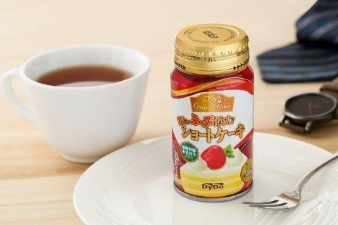 작년 11월에 일본 음료회사인 다이도 드링크사에서 출시한 '흔들어 마시는 조각 케익' 제품 사진. [출처 weekly.ascii.jp]