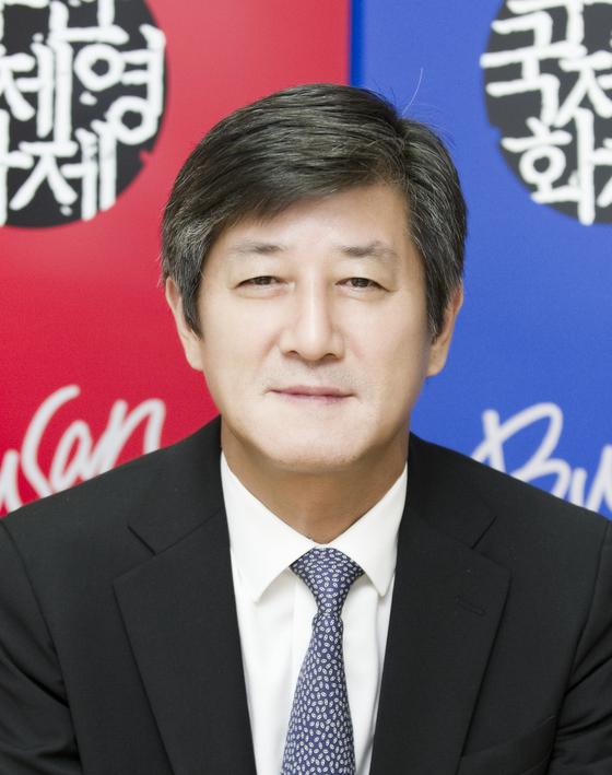 부산국제영화제 이용관 신임 이사장. [사진=동서대 제공]