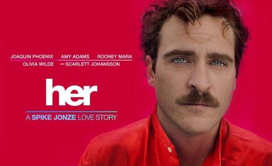 영화 'Her'에서 주인공 시어도어는 인공지능 운영체제인 사만다와 사랑에 빠진다. [영화 Her]