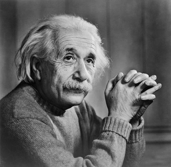 역사상 가장 뛰어난 천재 중 한 명인 알베르트 아인슈타인. [중앙포토]