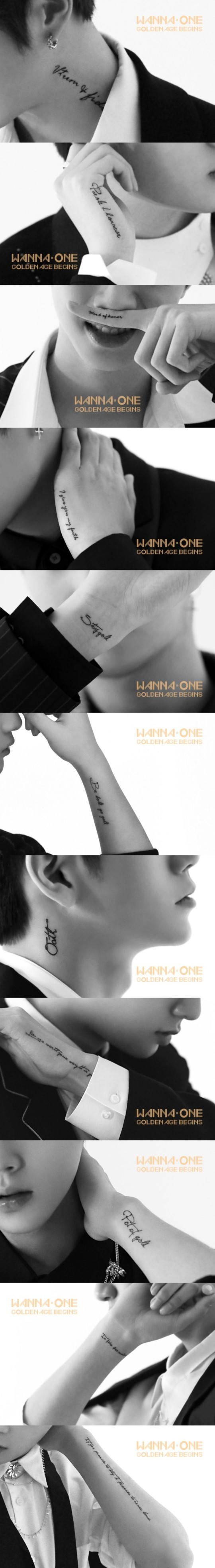 Photo from Wanna One social media account.
