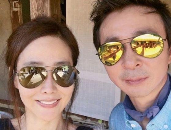 방송인 김국진과 가수 강수지가 오는 5월 결혼을 발표했다. [사진 불타는청춘]