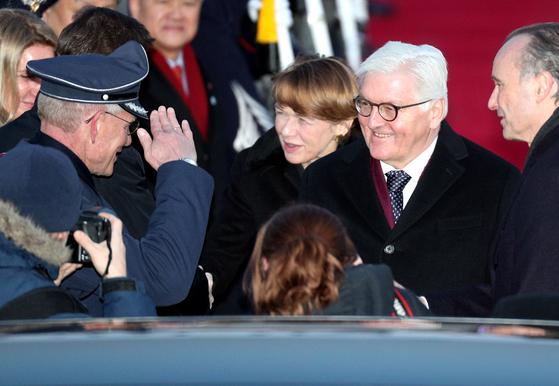 평창 찾아온 독일 대통령